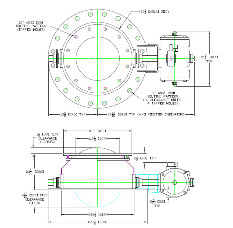 tld valve 12 inch