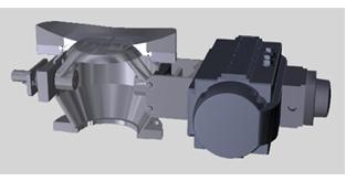 flush mount 3D
