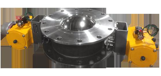 TFE airlock valves